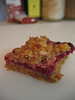 Raspberry cereal bar