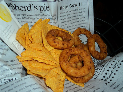 "Onion Rings - Served in ""Au Bureau""  07/06/14"