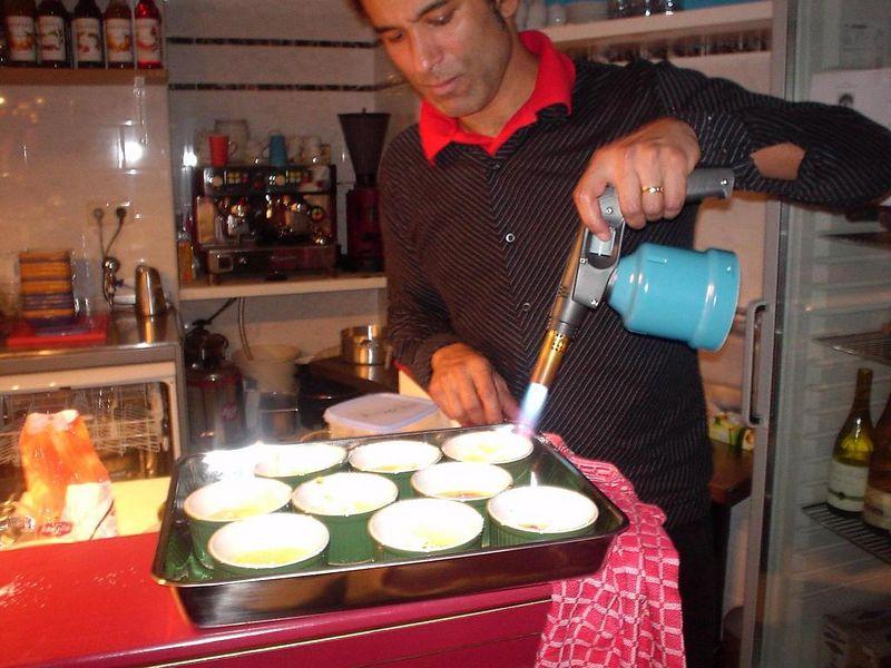 Creme Brulée aka flan aka Crema Catalan