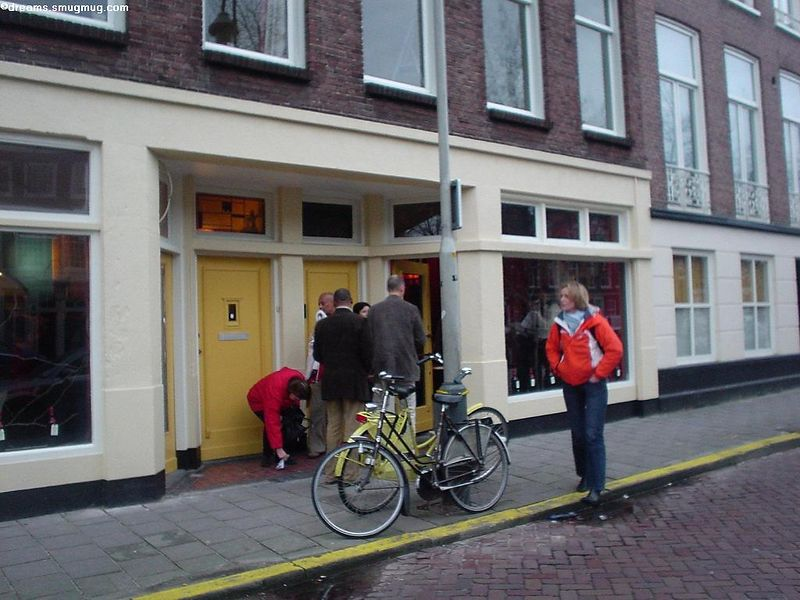 Winery de Fontaine is on the right (Groenewegje 100)