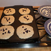 Buttermilk, Oatmeal, Blueberry Pancakes - every Sunday morning!