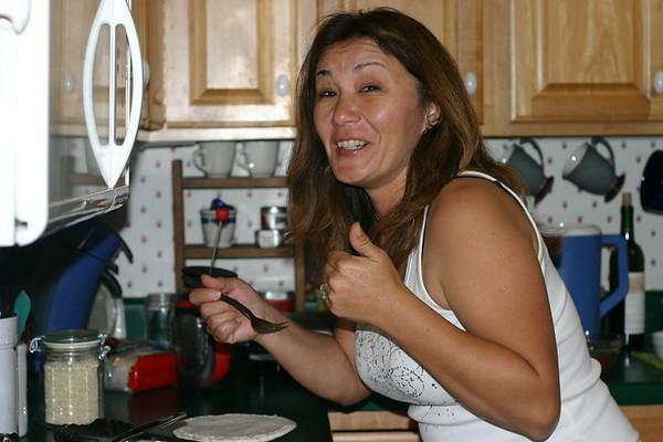 Ordell Cooking Korean Food