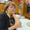 Annie Demartino things about the her involvement Our Father's Table on Tuesday night in Fitchburg during the 31st anniversay dinner. She has been involved since the start. SENTINEL & ENTERPRISE/JOHN LOVE