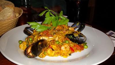 "Paella from the ""Marine Tavern"""