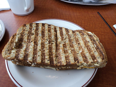 "Grilled Cheese Panini  Served in ""Tim Hortons""  06/02/14"