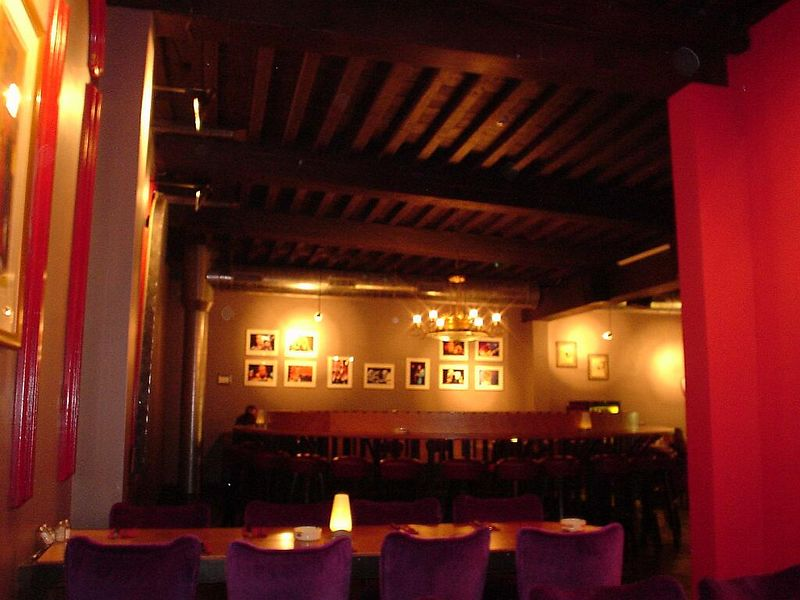"Jazz club and restaurant <a href=""http://www.pannonica.nl/"">Pannonica</a> in the center of Den Haag, crawling distance from my home... <i>Brilliant</i>!"