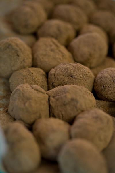 Chocolate-Blackberry Truffles
