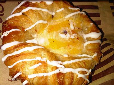 Vanilla Custard Danish Pastry, from Upper Crust  21/02/12