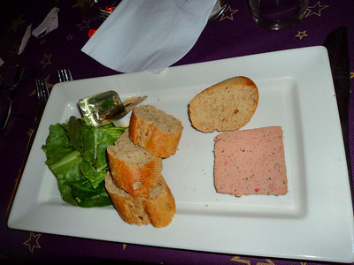 """Pate. Served in """"Weatherspoons"""" 13/12/11"""