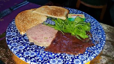 British pork & smoked bacon pâté