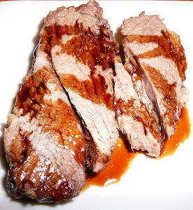 Roast Leg of Lamb with Vino Cotto  Recipe and photo by Montillo Italian Foods, copyright January 28, 2011