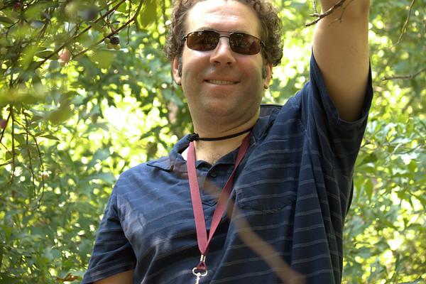 Picking blueberry 2010