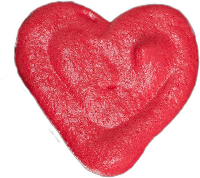 heart merangue