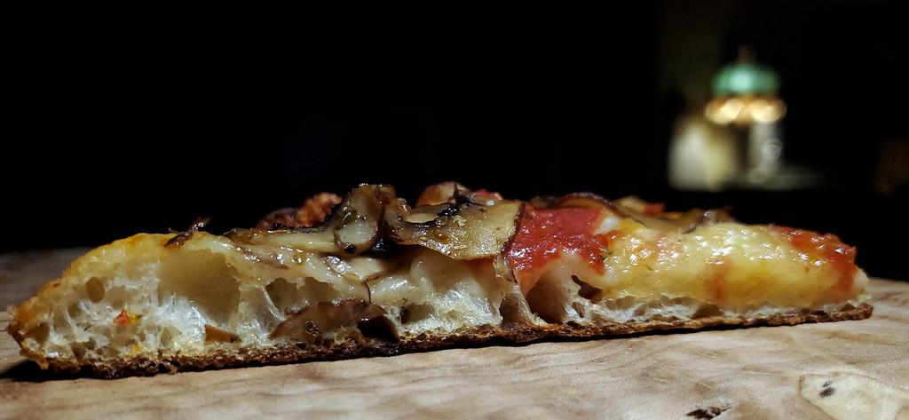 Pizza in Teglia Three in One Crumb Shot