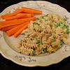 """<h1>Fettuccine Alfredo</h1> A no added fat, vegan alfredo that tastes as rich as its cholesterol-laden dairy version!   I can't get over how EASY this is to mix up!!  The sauce is made in the time it takes to cook the pasta!  Recipe by Lindsay Nixon (Happy Herbivore), and <b><a href=""""http://happyherbivore.com/recipe/instant-vegan-alfredo/#"""">found here</a></b>.  My changes include doubling the amount of garlic and onion powder.  I also dump everything into the blender at once (Lindsay suggests a two step process), and once all blended, I just microwave it in one minute increments, whisking after each.    Thickens up beautifully.  Can easily be made GF by replacing the 2 Tbsp. of flour with a GF thickener (I used potato starch) and using a GF pasta."""