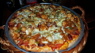 Meat & Gr'heat Pizza