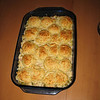 The Creamy Chicken Biscuit Bake from America's Test Kitchen was a hit :)