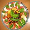 Fresh basil best.