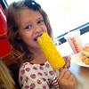 Yummy!  Vivian 5 yo