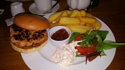 Pork & Apple Burger