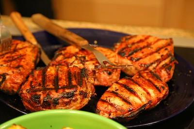 Pork Chop from a BBQ