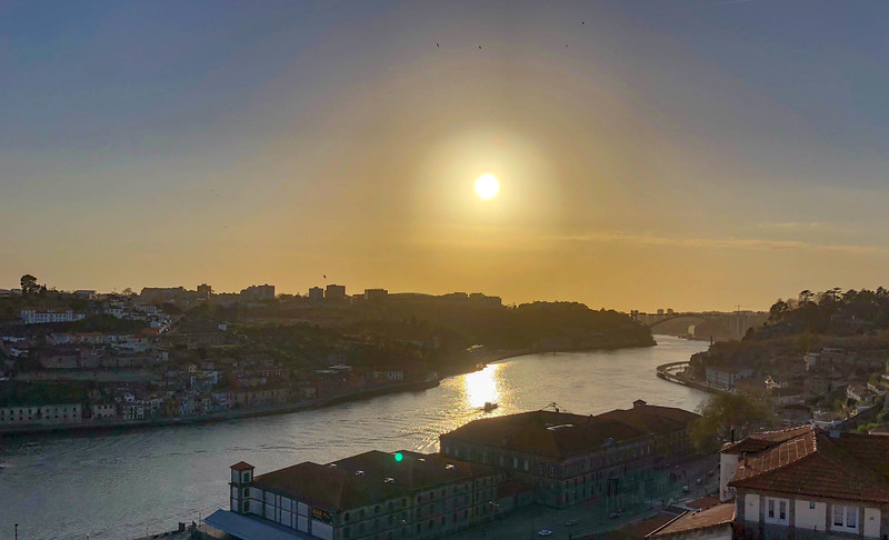 View in Porto Before Sunset