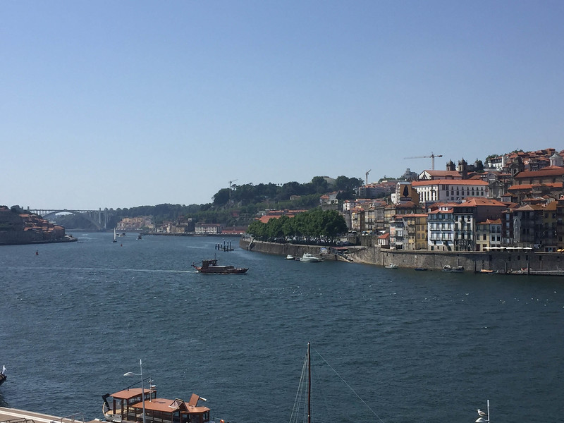View of Duoro and Porto