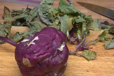Potato Kohlrabi Ham Gratin