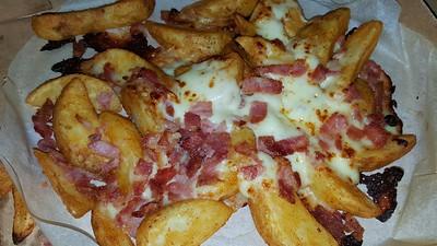 Cheese & Bacon Potato Wedges