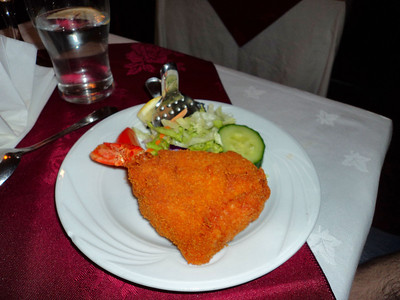 "King Prawn Butterfly, served in ""Himalaya"" in Torquay 04/03/11"