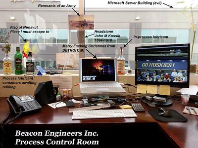 Beacon Engineers Inc. Process Control Room