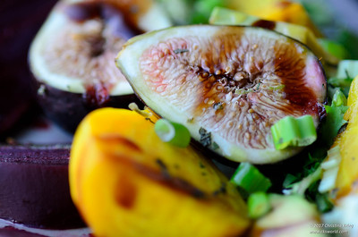 Passion Fig with Yellow Beets
