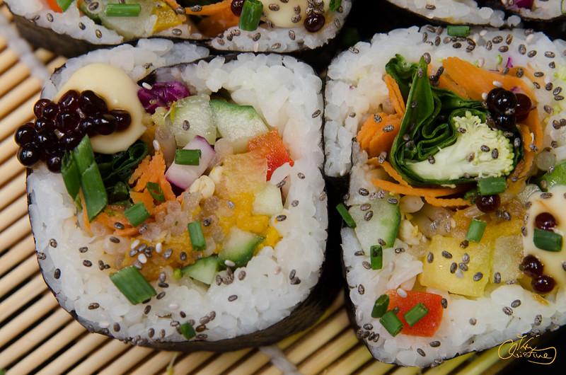 Vegan Sushi Roll