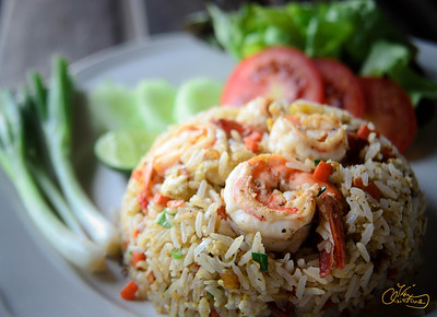 Thai Rice with Prawns