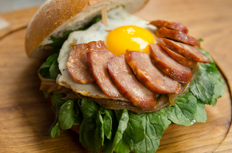 Sausage and Egg Sandwich