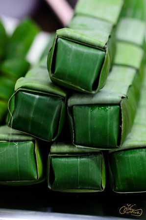 Bamboo Wrapped Sticky Rice