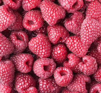Raspberry close-up.