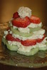 No, that's not cucumber.  It's a Kiwi-Strawberry Shortcake.  And it was heavenly.