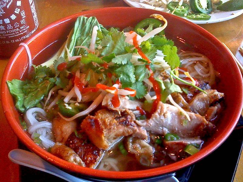 Duck pho, Mo' Pho Vietnamese Restaurant, Fort Lee, NJ<br /> <br /> iPhone photo