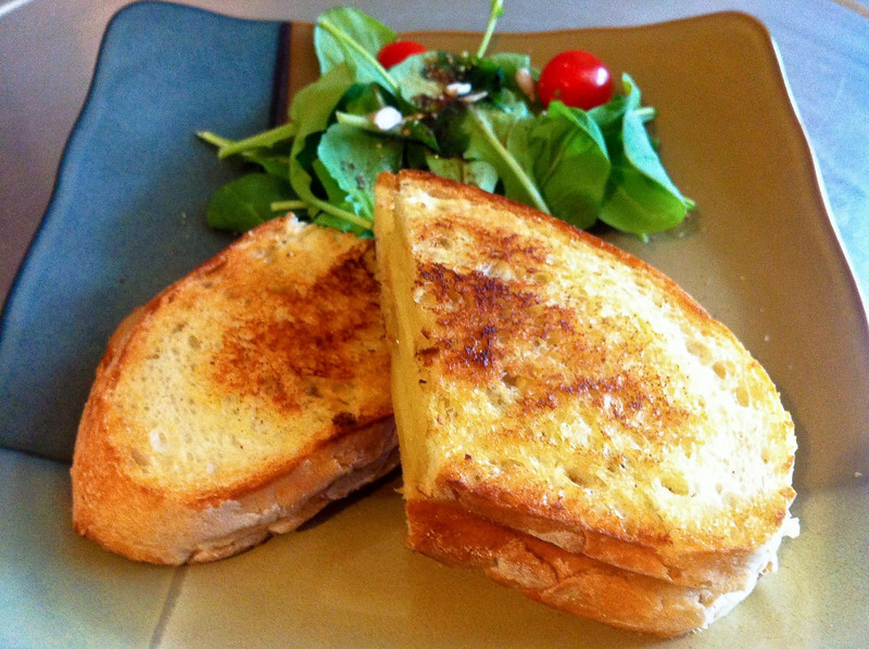 Grilled cheese sandwich<br /> <br /> iPhone photo