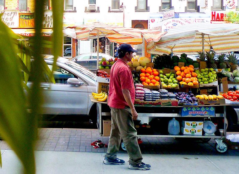 Fruit stand, West Harlem