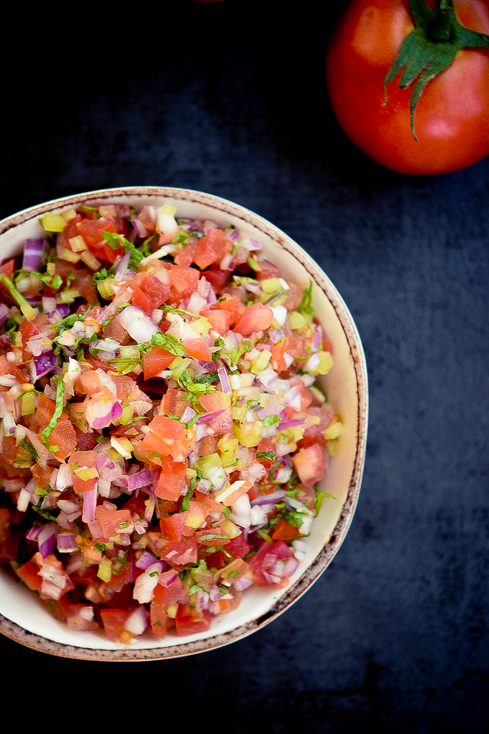 Many people mistake pico de gallo as salsa but while they may have the same ingredients they can be very different.