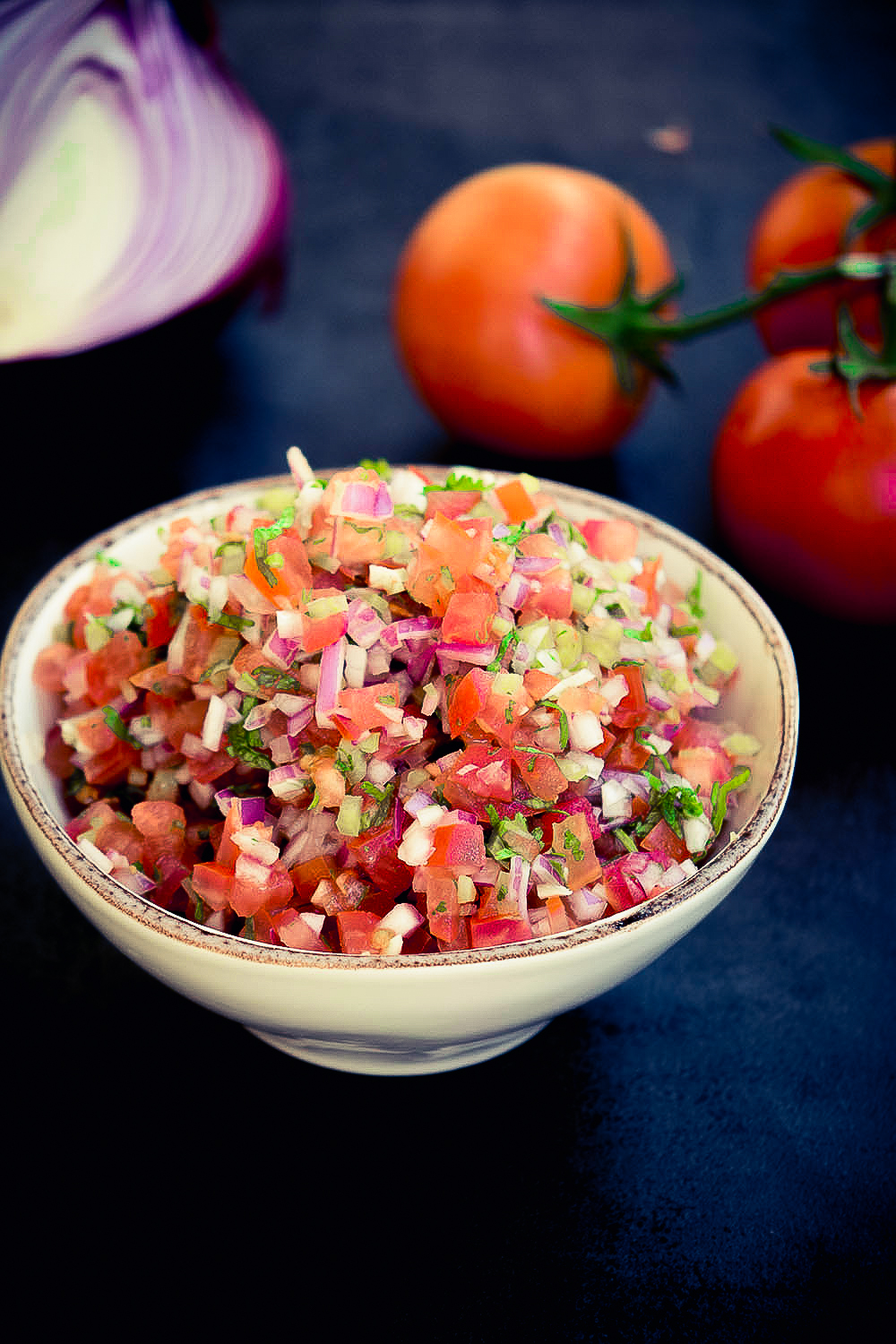 Pico de gallo is just one many easy Cinco de Mayo recipes we're sharing and it has only 5 ingredients.