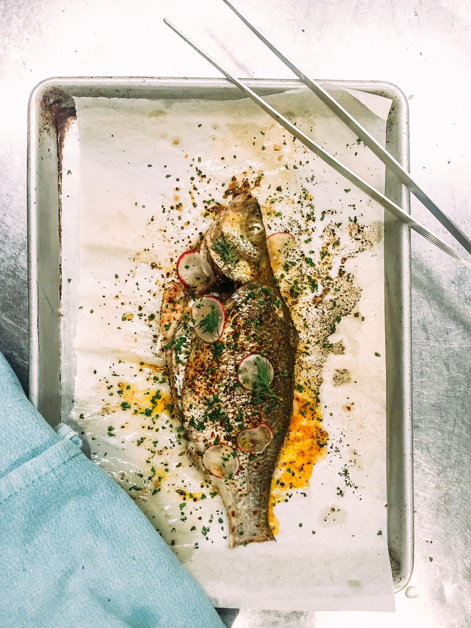 Whole baked fish is so easy to make, would you believe you can do this in less than 20 minutes?