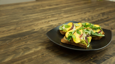 Summeripe Nectarine & Avocado Toast