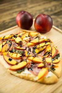 Summeripe Nectarine & Prosciutto Flatbread