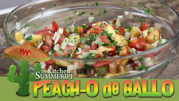 Summeripe Peacho de Gallo