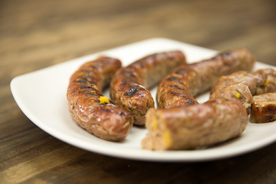 Summeripe Peach Jerk Sausage