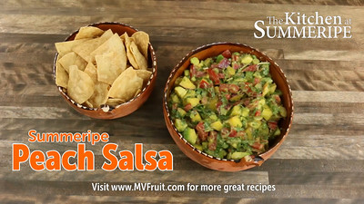Summeripe Peach Salsa