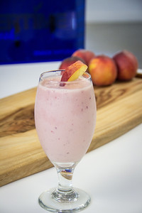 Summeripe Peach Smoothie from The Kitchen at Summeripe